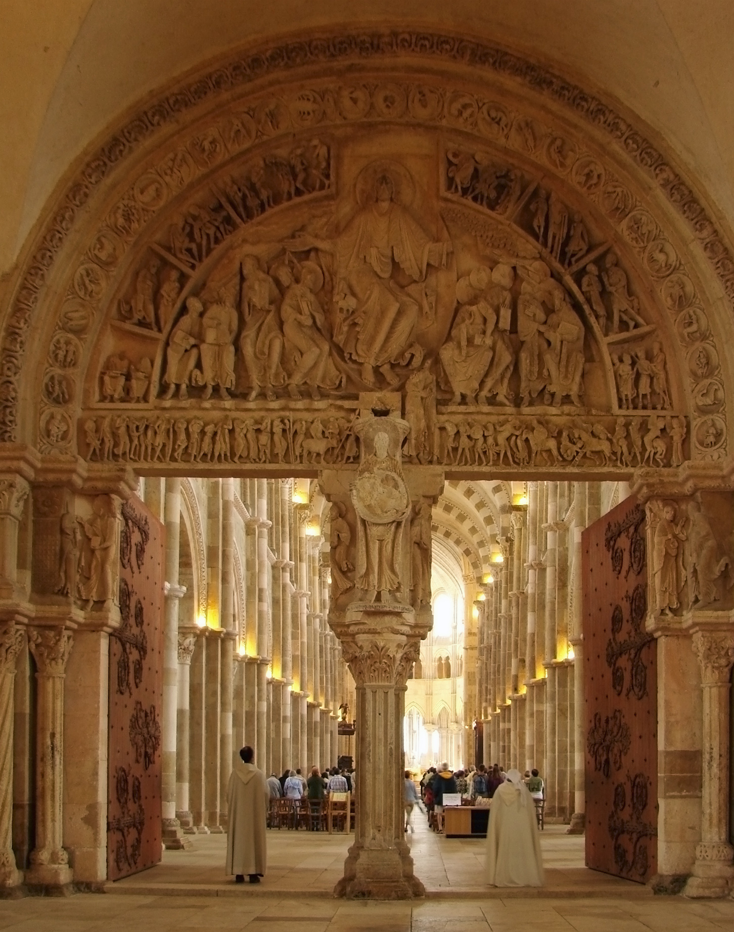 The Great Portal of Vézelay > John Runkle - Sacred Spaces